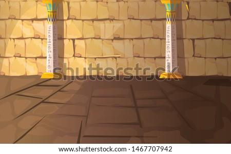 ancient egypt empty pharaoh