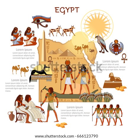 ancient egypt infographics
