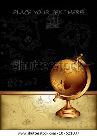 ancient globe #187621037