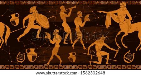 ancient greece horizontal