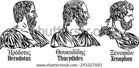 ancient greek historians