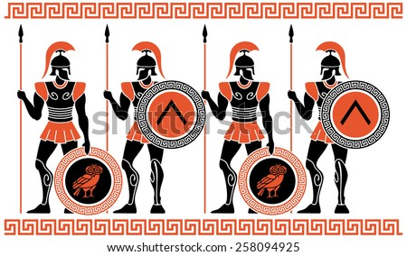 ancient greek warriors