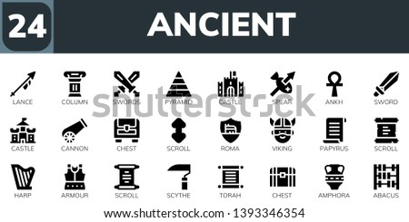 Vector Set of Viking Icons - Download Free Vectors, Clipart