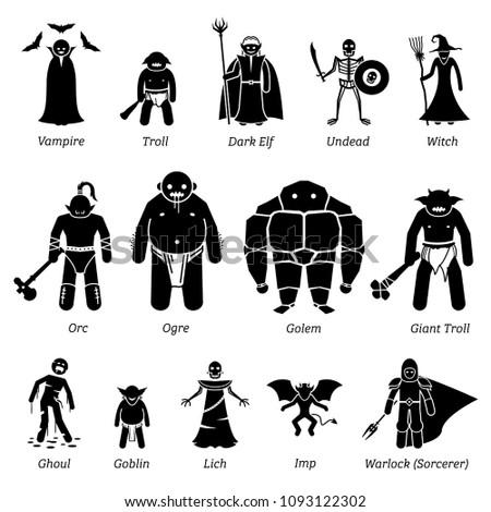 ancient medieval fantasy evil