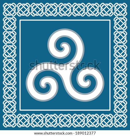ancient pagan symbol triskelion