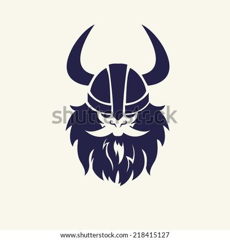 Royalty Free Ancient Viking Head Logo For Mascot 118055101 Stock