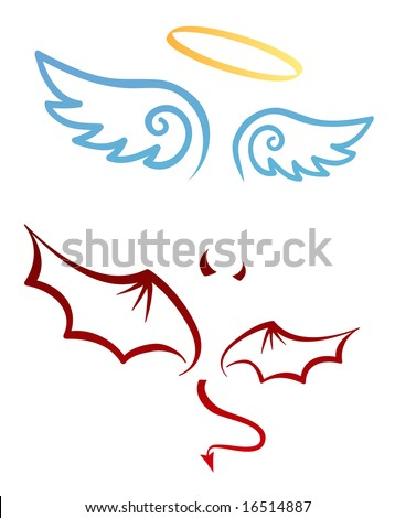angel and devil attributes