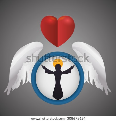 angel digital design  vector