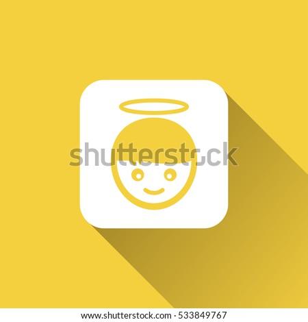 angel emoticon icon