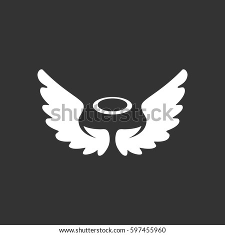 angel icon illustration