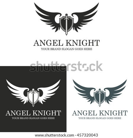 angel knight knight logo