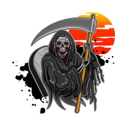 Angel of Death the Grim Reaper