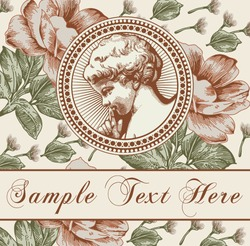 Angel Prayer Boy baby child Frame baroque peony. Drawing engraving. Vintage realistic flowers Easter. Wildflowers isolated. Greeting invitation thanks card. Vector victorian wedding Illustration.