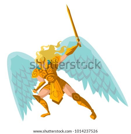 angel warrior with sword