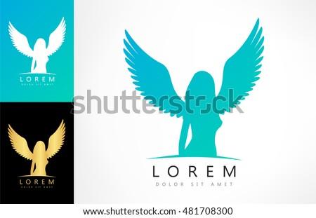 angel woman symbol