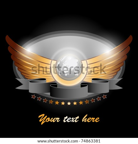 angel world vector illustration
