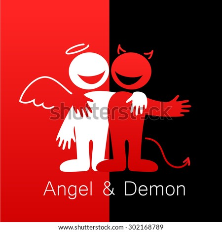 angels and demons   symbols of