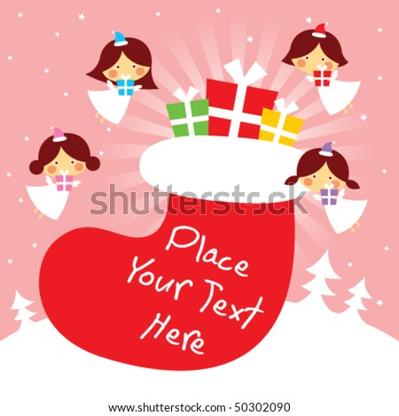 angels christmas celebration #50302090