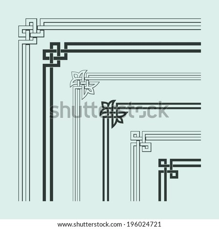 angle decoration of chinese