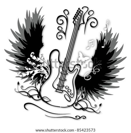 angle guitar