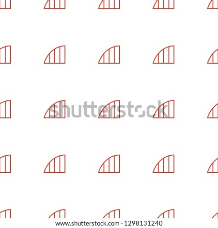 angle icon pattern seamless white background. Editable outline angle icon. angle icon pattern for web and mobile.
