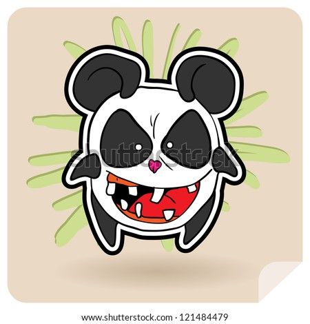Panda Anime Series Funny Panda Anime