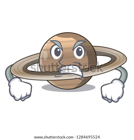 angry planet saturn in the