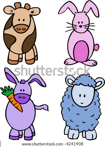 cartoon characters images. cartoon characters - cow,