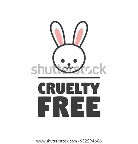 animal cruelty free symbol can