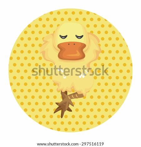 animal duck cartoon theme...