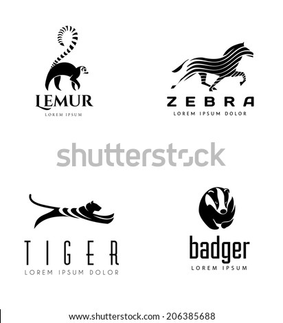 animal emblem collection lemur