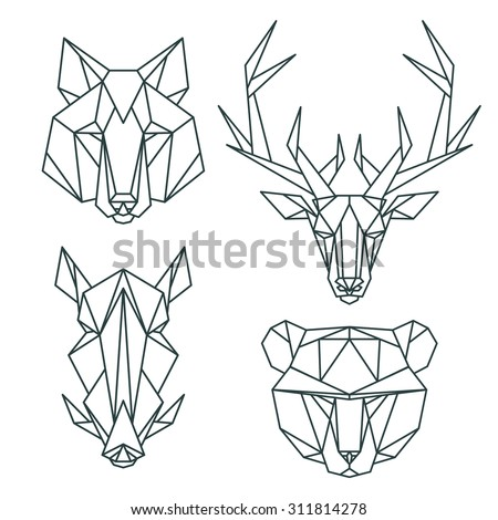 animal icons  vector icon set