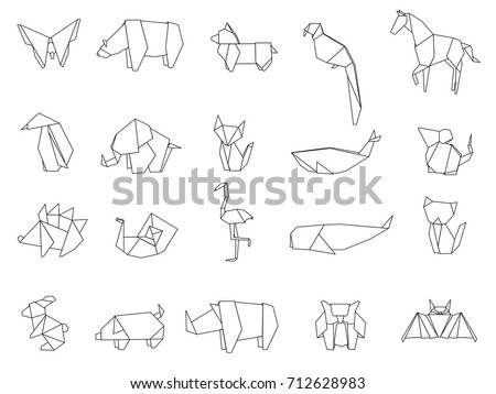 Origami Animals Download Free Vector Art Stock Graphics Images