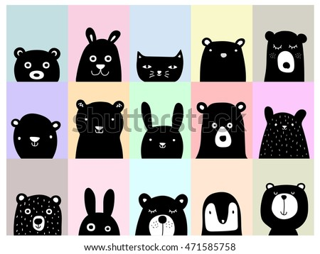 animal posters  cute wall art...