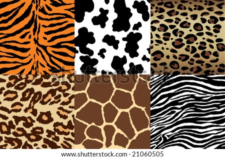 stock vector : Animal Print backgrounds
