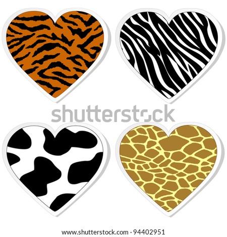 stock vector : Animal print