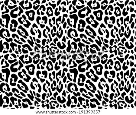 animal print seamless vector