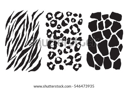 animal print set