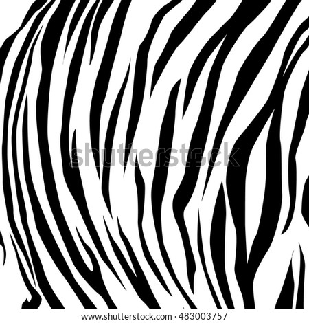 animal skin black and white