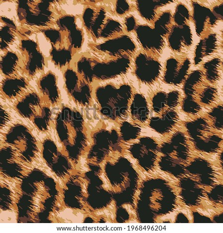 animal skin leopard seamless pattern design. Jaguar, leopard, cheetah, panther fur. Seamless camouflage background for fabric, textile, design, cover, wrapping.