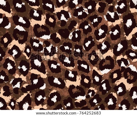 animal skin pattern in vector