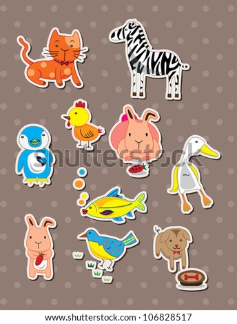 animal stickers