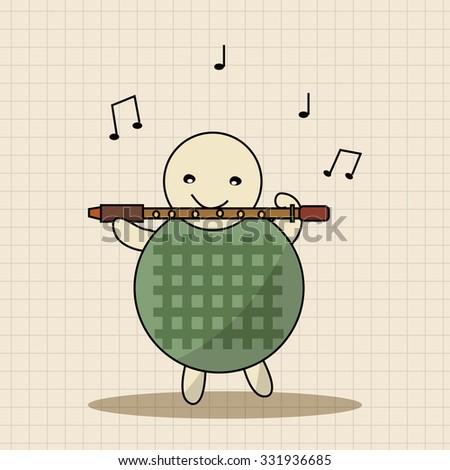 animal turtle playing