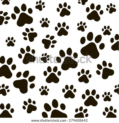 Animal foot prints patterns - photo#19