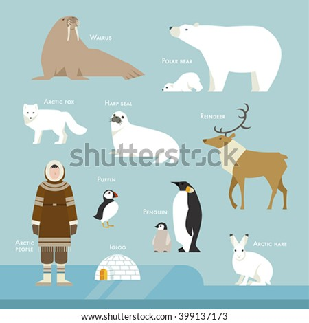 animals and people living in