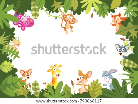 animals banner vector
