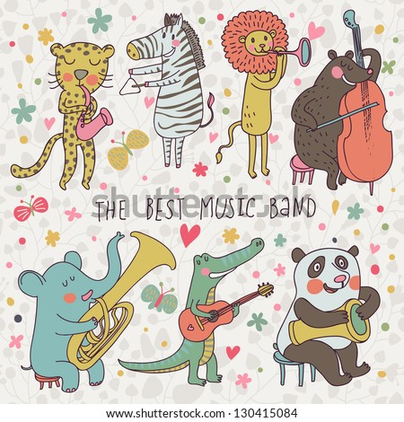 animals   musicians leopard