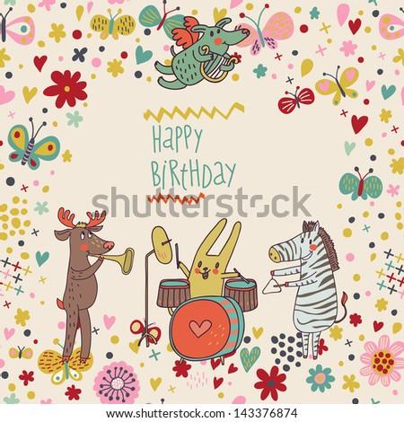animals   musicians on birthday