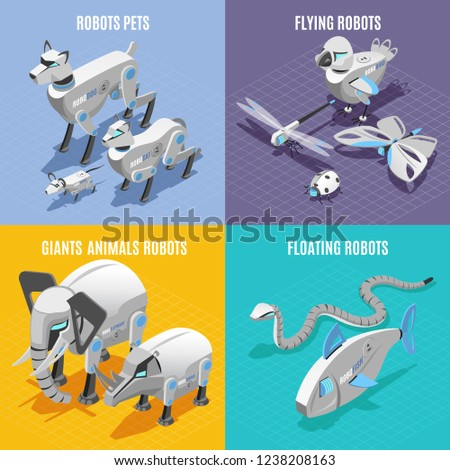 animals robots concept 4