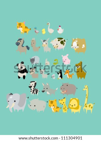 Animals Vector Pack